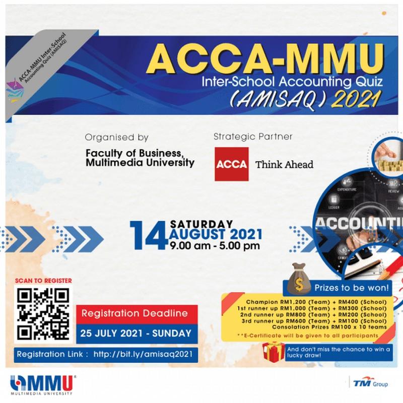 MMU-Inter-School-Accounting-Quiz-350x350 - Events & Fairs Johor Kedah Kelantan Kuala Lumpur Melaka Negeri Sembilan Online Store Others Pahang Penang Perak Perlis Putrajaya Sabah Sarawak Selangor Terengganu Upcoming Sales In Malaysia