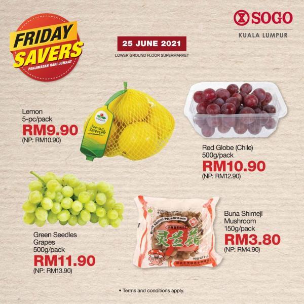 SOGO-Supermarket-Friday-Savers-Promotion-1-1-350x350 - Kuala Lumpur Promotions & Freebies Selangor Supermarket & Hypermarket
