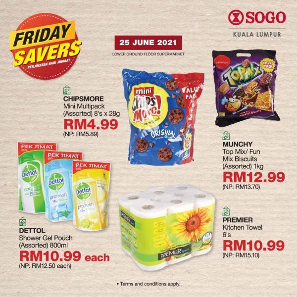SOGO-Supermarket-Friday-Savers-Promotion-3-1-350x350 - Kuala Lumpur Promotions & Freebies Selangor Supermarket & Hypermarket