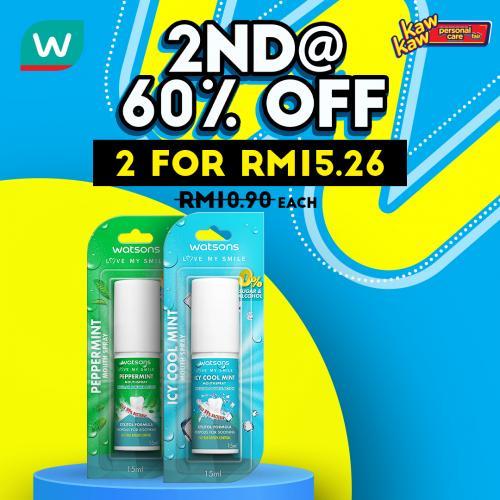 Watsons-Oral-Care-Sale-19-350x350 - Beauty & Health Johor Kedah Kelantan Kuala Lumpur Malaysia Sales Melaka Negeri Sembilan Pahang Penang Perak Perlis Personal Care Putrajaya Sabah Sarawak Selangor Terengganu