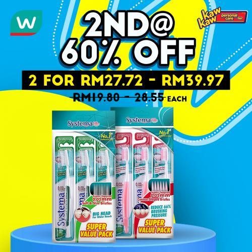 Watsons-Oral-Care-Sale-3-350x350 - Beauty & Health Johor Kedah Kelantan Kuala Lumpur Malaysia Sales Melaka Negeri Sembilan Pahang Penang Perak Perlis Personal Care Putrajaya Sabah Sarawak Selangor Terengganu