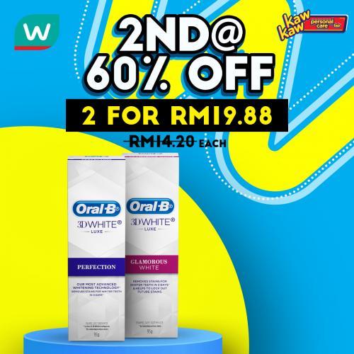 Watsons-Oral-Care-Sale-5-350x350 - Beauty & Health Johor Kedah Kelantan Kuala Lumpur Malaysia Sales Melaka Negeri Sembilan Pahang Penang Perak Perlis Personal Care Putrajaya Sabah Sarawak Selangor Terengganu