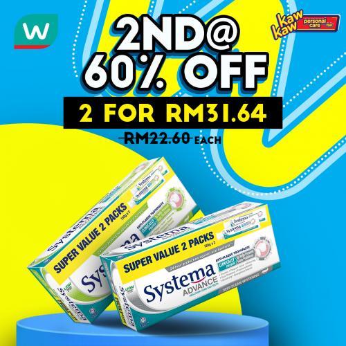 Watsons-Oral-Care-Sale-7-350x350 - Beauty & Health Johor Kedah Kelantan Kuala Lumpur Malaysia Sales Melaka Negeri Sembilan Pahang Penang Perak Perlis Personal Care Putrajaya Sabah Sarawak Selangor Terengganu
