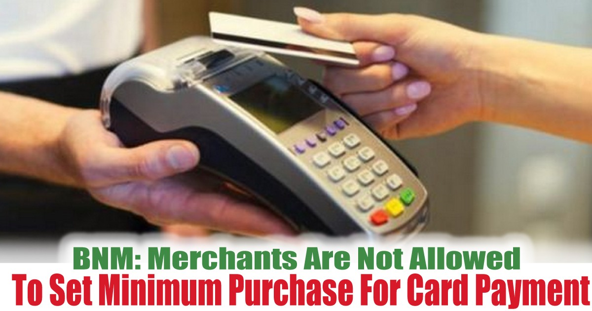 To-Set-Minimum-Purchase-For-Card-Payment - LifeStyle